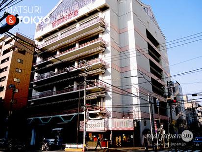KAMINARI 5656 KAIKAN (雷5656会館), Tokyo tourism, ASAKUSA,常盤堂, 雷おこし, TOKYO, 東京観光浅草
