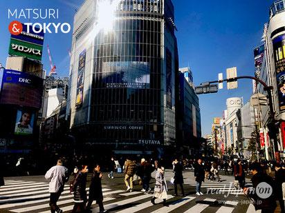 Scramble intersection in SHIBIYA, Tokyo tourism, 渋谷スクランブル交差点, 東京観光,