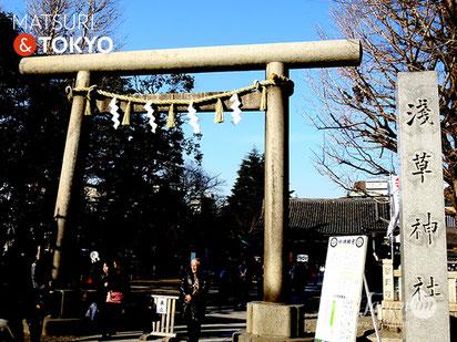 ASAKUSA SHRINE (浅草神社 Asakusa-jinja), Tokyo tourism, ASAKUSA, 浅草神社, TOKYO, 東京観光浅草