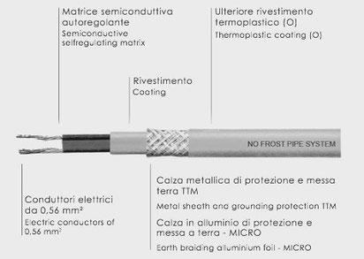 No frost pipe system lorenzoni, antigelo tubazioni
