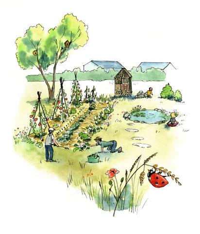 capitale de la biodiversité, territoire engagé pour la nature, valorisation, panneaux pédagogiques, sentier d'interprétation, livret, médiation, atelier