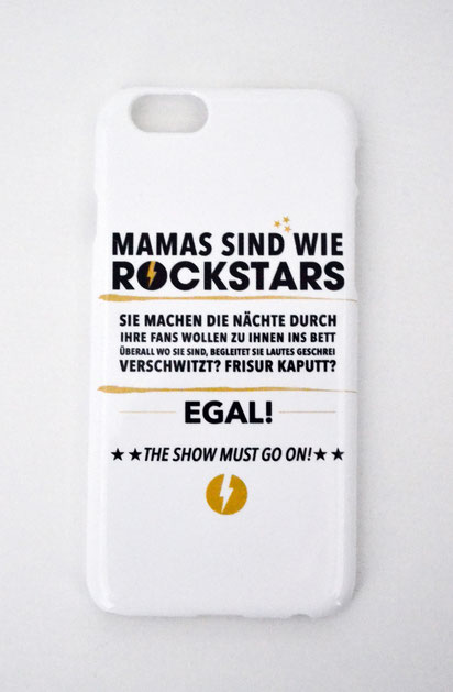 "Handyhülle ""Mamas sind wie Rockstars"""