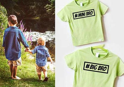 T-Shirts - Geschwistershirts - nähfein