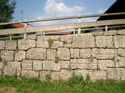 Tennenbrücke aus Nagelfluh