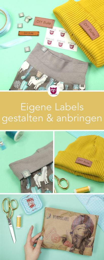 [Werbung] Erstellt eure eigenen Labels zum Annähen mit Logo oder mit Text und Symbol. Zusammen mit Wunderlabel zeige ich euch wie es geht, welche Labelarten es gibt und wie ich die Etiketten designt habe. Ich nutze Webetiketten und Labels aus Leder.