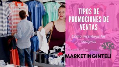 Tipos de promociones de ventas