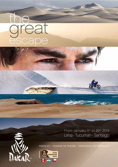 2013 Dakar Rally Poster