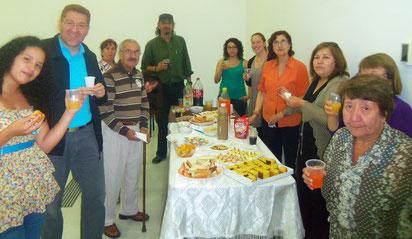 Celebración en el Taller de Cuentacuentos en la Comuna de Cerrillos