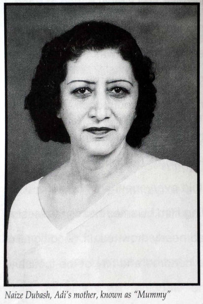 "Adi's mother . Image courtesy from Rhoda's book ""Surrendering to Him""."