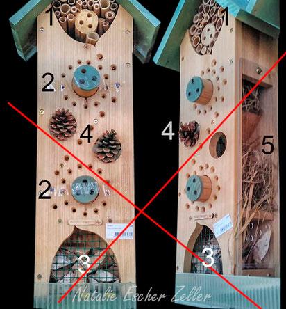 InsektenNICHTNisthilfe aus der Schweiz für schlappe 120 CHF