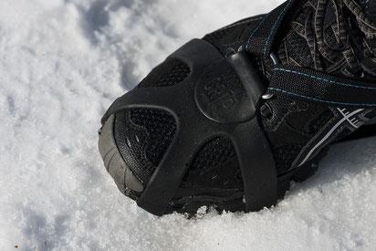 Grip RUNNING - Speziell entwickelt fürs Laufen auf Schnee