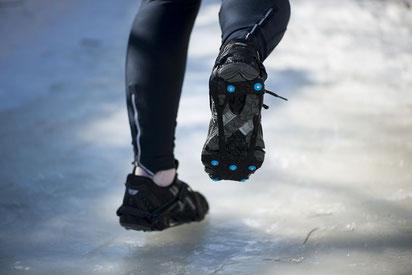 Nordic Grip RUNNING - Speziell entwickelt fürs Laufen auf Schnee