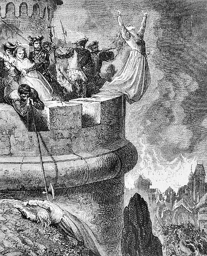 Le 19 avril 1545, l'armée entre sur les terres du pape et se présente devant Cabrières. Tous ceux qui sont retrouvés sont égorgés. Les fuyards sont retrouvés et 800 sont exécutés. D'Oppède ordonne que les femmes soient brûlées vives dans la paille.