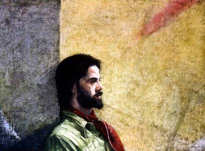 francois beaudry aquarelle portrait richard gingras série chercheur de trésors 1