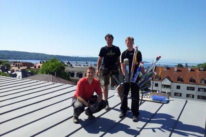 Das Team der Bavarian Fireworx Performance stellt sich vor