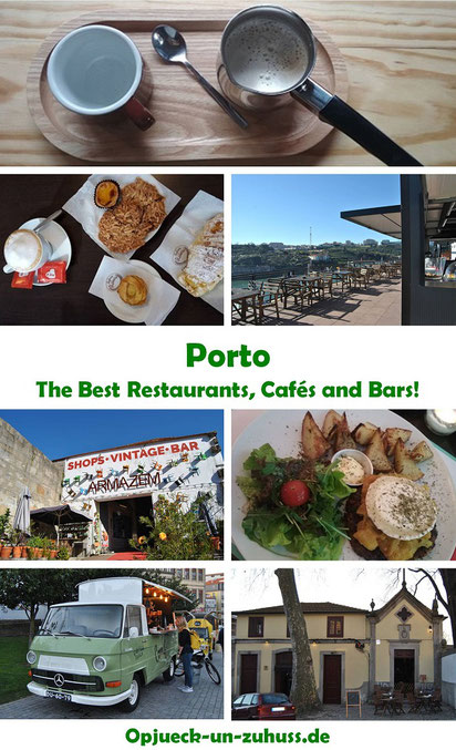 Porto - the best restaurants, cafés and bars