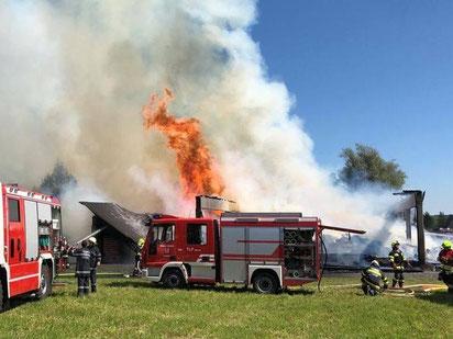 Brandeinsatz in Graschuh 04.09.2019