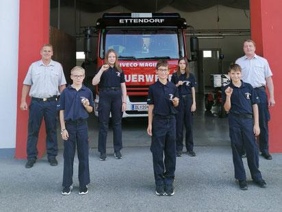 Wissenstest der Feuerwehrjugend 19.09.2020