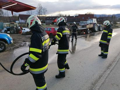 Einsatz Straßenreinigung in Ettendorf 07.03.2020