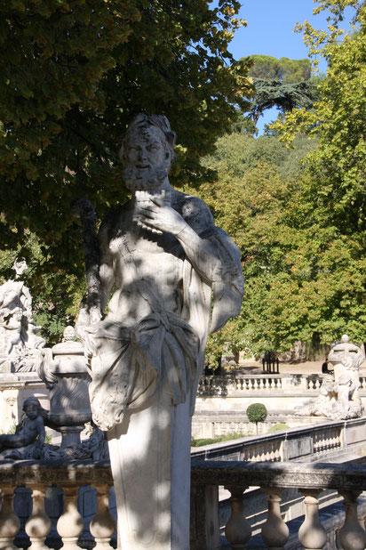 Bild: Jadines de la Fontaine in Nimes