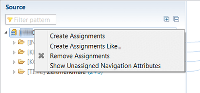 Eclipse: Show Unassigned Navigation Attributes