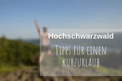 Nachhaltig reisen Hochschwarzwald
