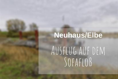 Floß fahren Elbe
