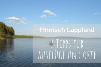 Skandinavien Urlaub Sommer Finnisch Lappland
