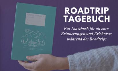 Roadtrip Tagebuch Notizbuch
