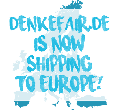 Shipping vegan wallets and vegetarian purses to all European countries