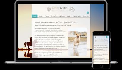 Tierphysio München ist Kunde der Web-Manu-Faktur München