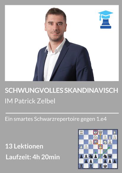 Skandinavisch, chessemy Kurs von IM Patrick Zelbel