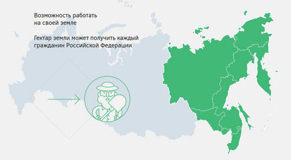 俄羅斯遠東地區開放讓所有公民申請土地。(圖/俄羅斯政府官網)
