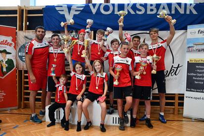 Alle Tiroler Meister vom RSC Inzing