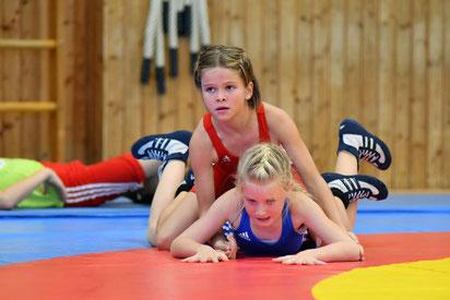 Sophia Meraner (Rot) besiegte alle ihre Gegnerinnen