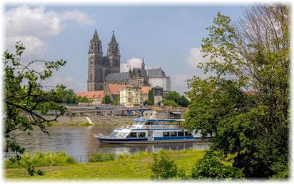 Magdeburg ist eine Reise wert