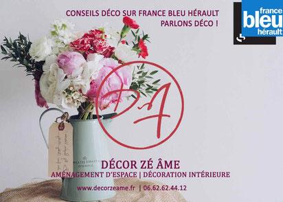 Parlons déco sur France bleu hérault