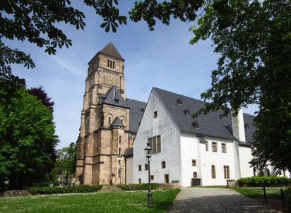 Die Schloßkirche St. Marien und das Schloßmuseum