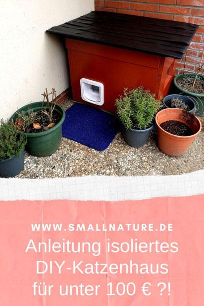 Anleitung DIY-Katzenhaus