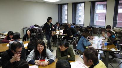 ワークショップの様子 (2013/2/16 IVY Social School Vol.2)