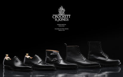 James Bond neues Schuhwerk/ James Bond's new shoes. Photo copyright: Crockett & Jones, Northampton.