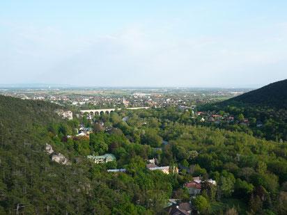 バーデン ラウエンシュタインからの眺め