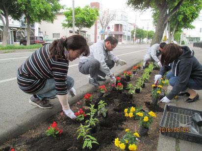 花壇整備ボランティア