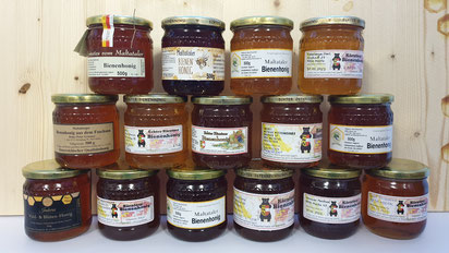 Diese Maltataler Honige treten bei der Prämierung 2021 an