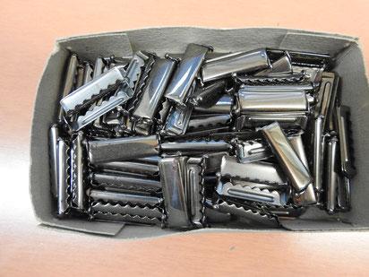 Klemmschnallen aus Metall
