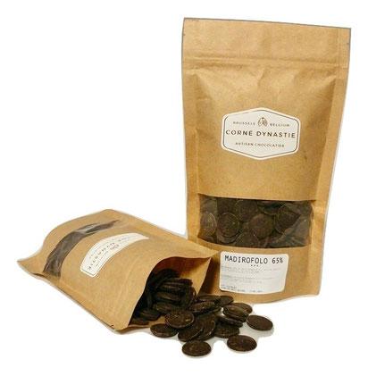 pépites - chocolat - pastilles - Corné Dynastie - chocolat Madirofolo