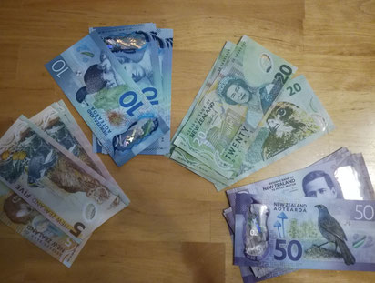 Neuseeland-Moneten 🤑