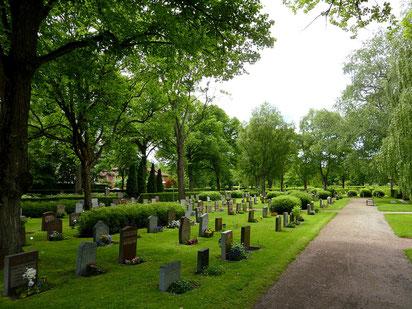 Gamla kyrkogården, el cementiri de Malmö