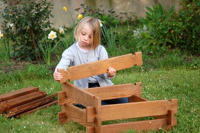 ©Carré Serre, un carré potager montable et evolutif pour les enfants