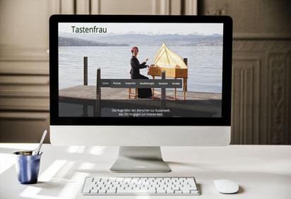 Website tastenfrau.ch